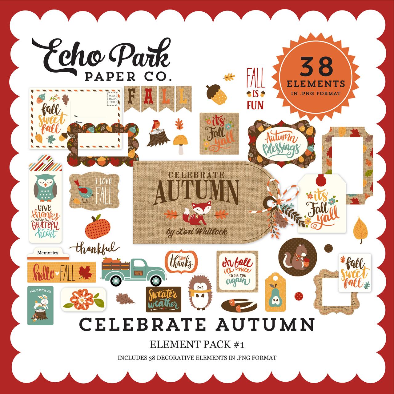 Celebrate Autumn Element Pack #1
