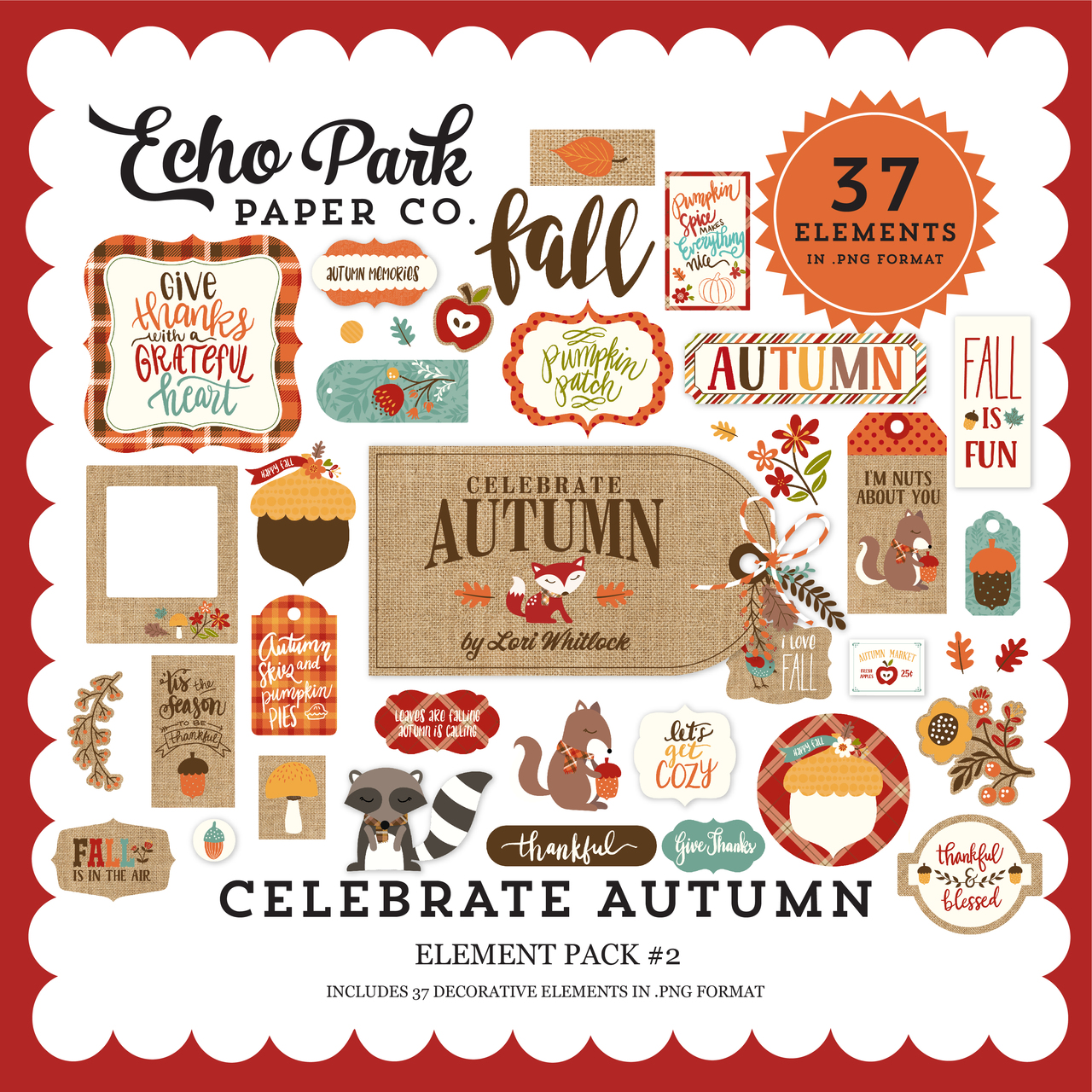Celebrate Autumn Element Pack #2