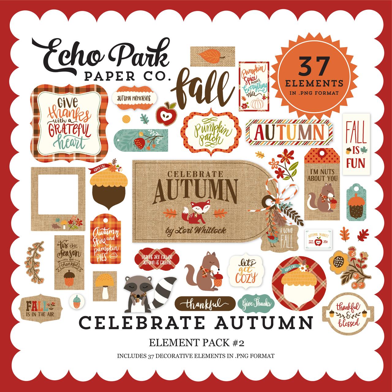 Celebrate Autumn Element Pack #2