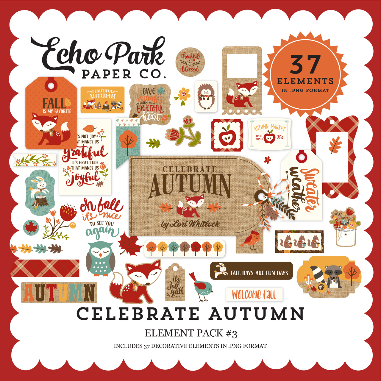 Celebrate Autumn Element Pack #3