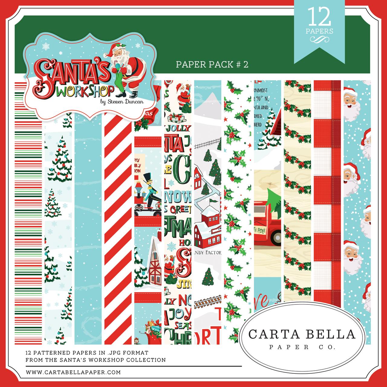 Santa's Workshop Paper Pack #2