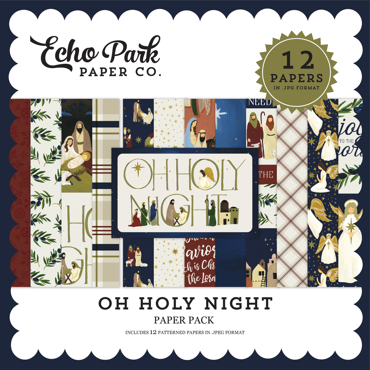 Oh Holy Night Paper Pack