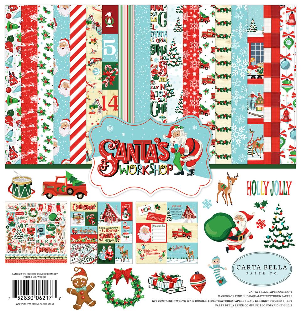Santa's Workshop Collection Kit