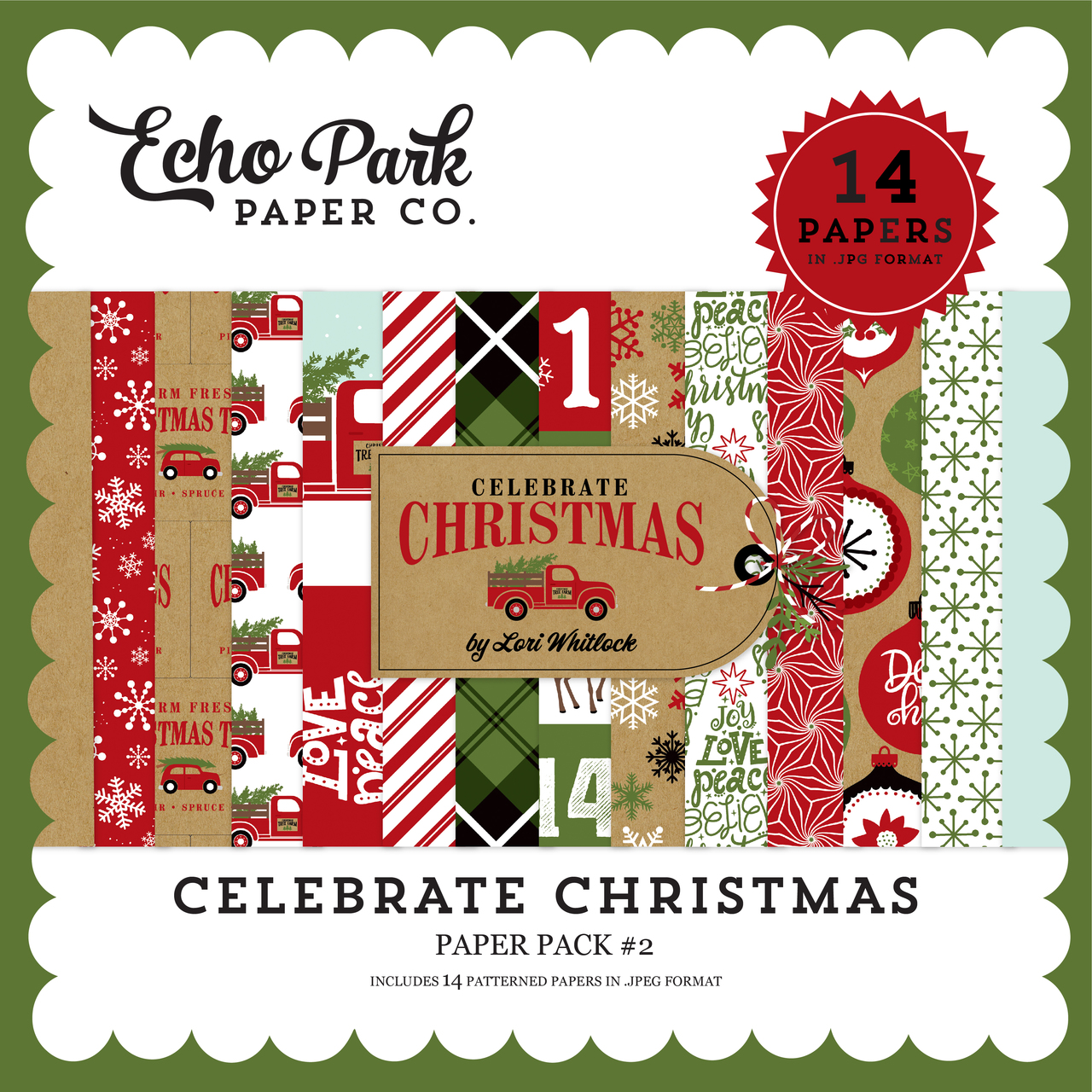 Celebrate Christmas Paper Pack #2