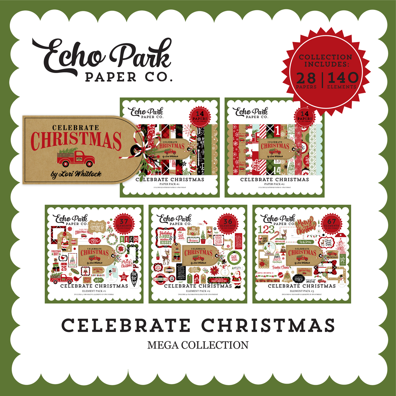 Celebrate Christmas Mega Collection