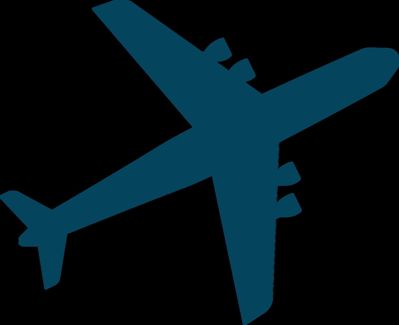 Airplane #5 SVG Cut File