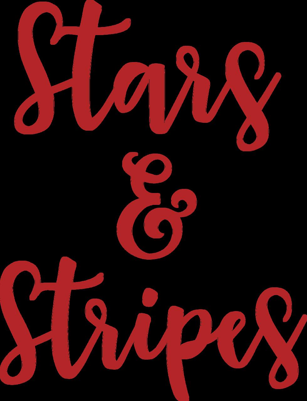 Stars & Stripes SVG Cut File