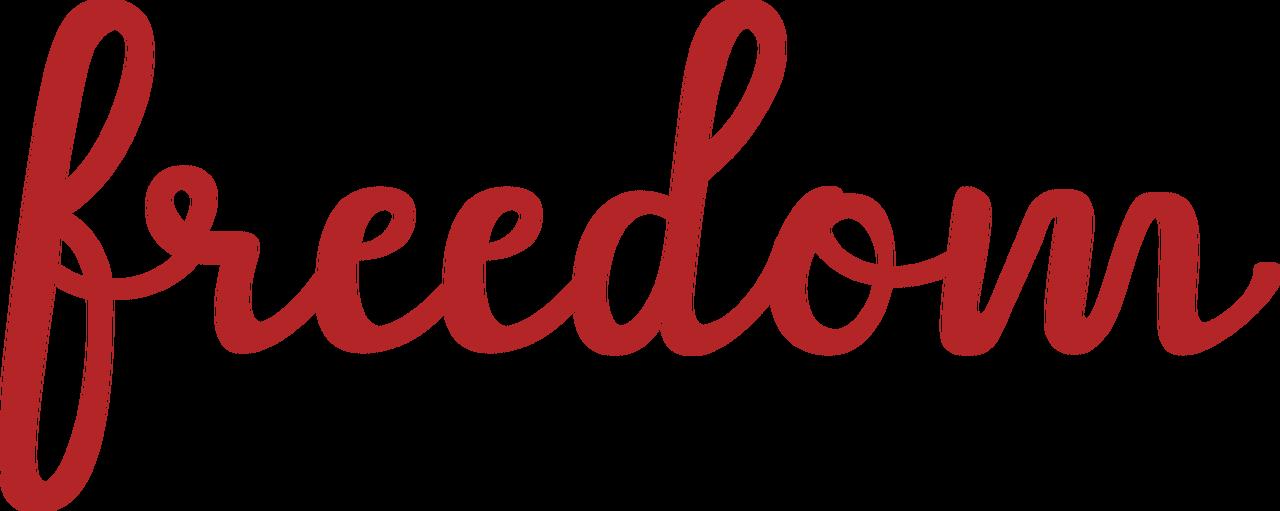 Freedom SVG Cut File