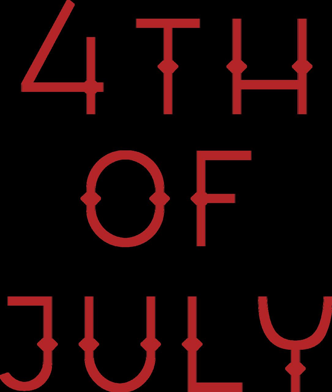 4th Of July #2 SVG Cut File