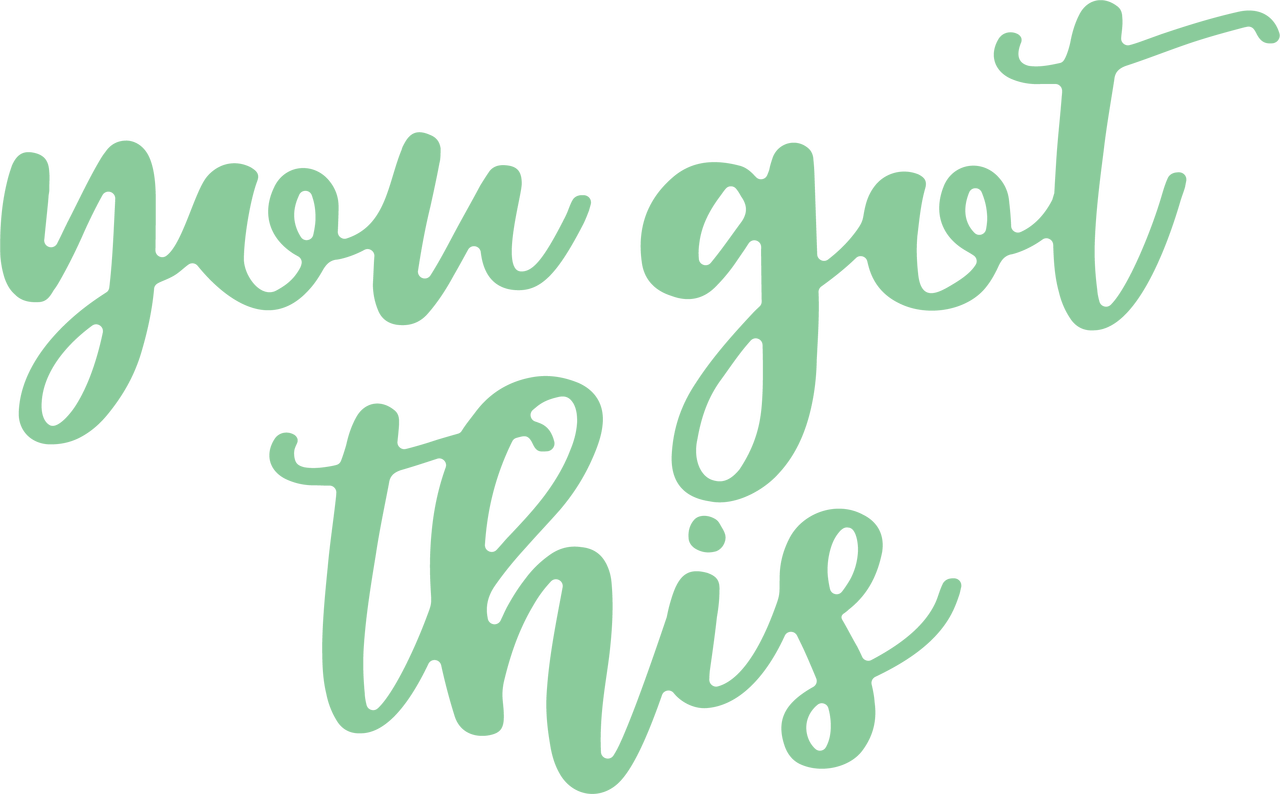 You Got This SVG Cut File