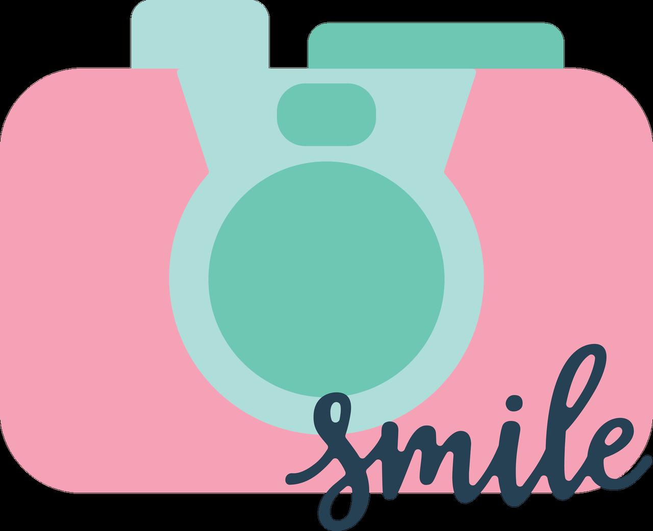 Smile Camera SVG Cut File