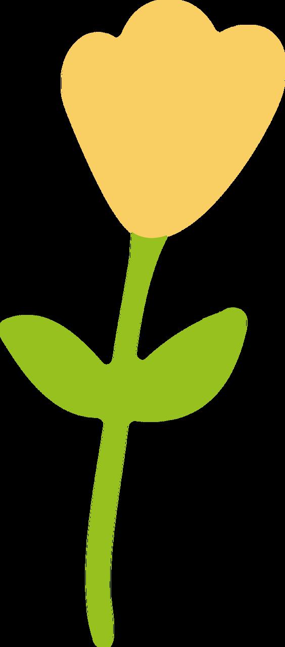 Tulip #2 SVG Cut File