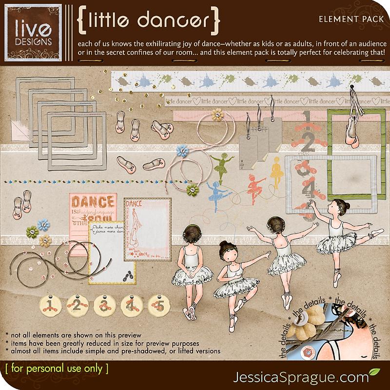 Little Dancer - Element Pack