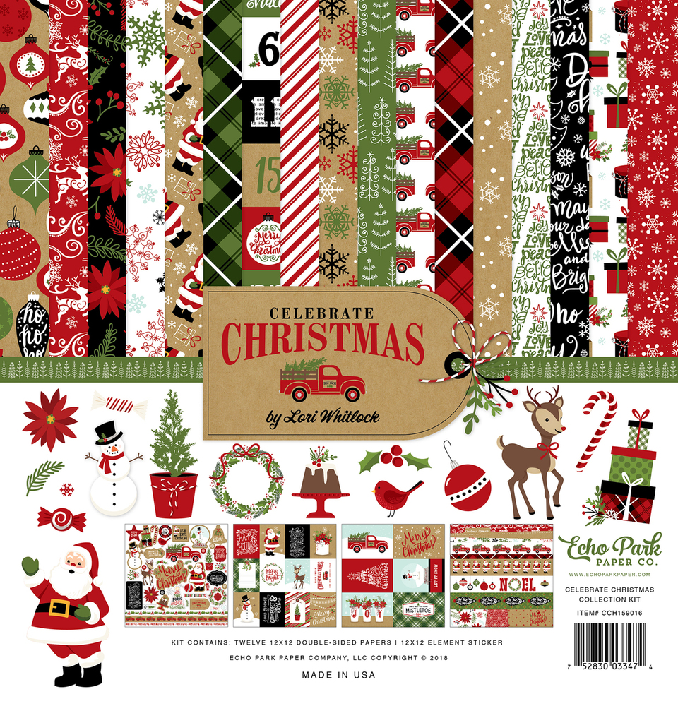 Celebrate Christmas Collection Kit