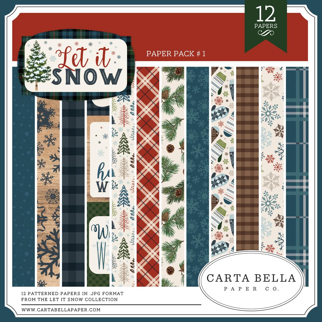 Let It Snow Paper Pack #1