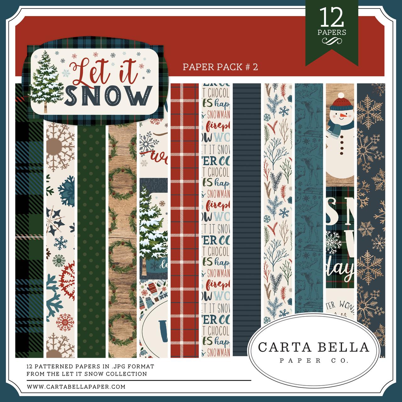 Let It Snow Paper Pack #2