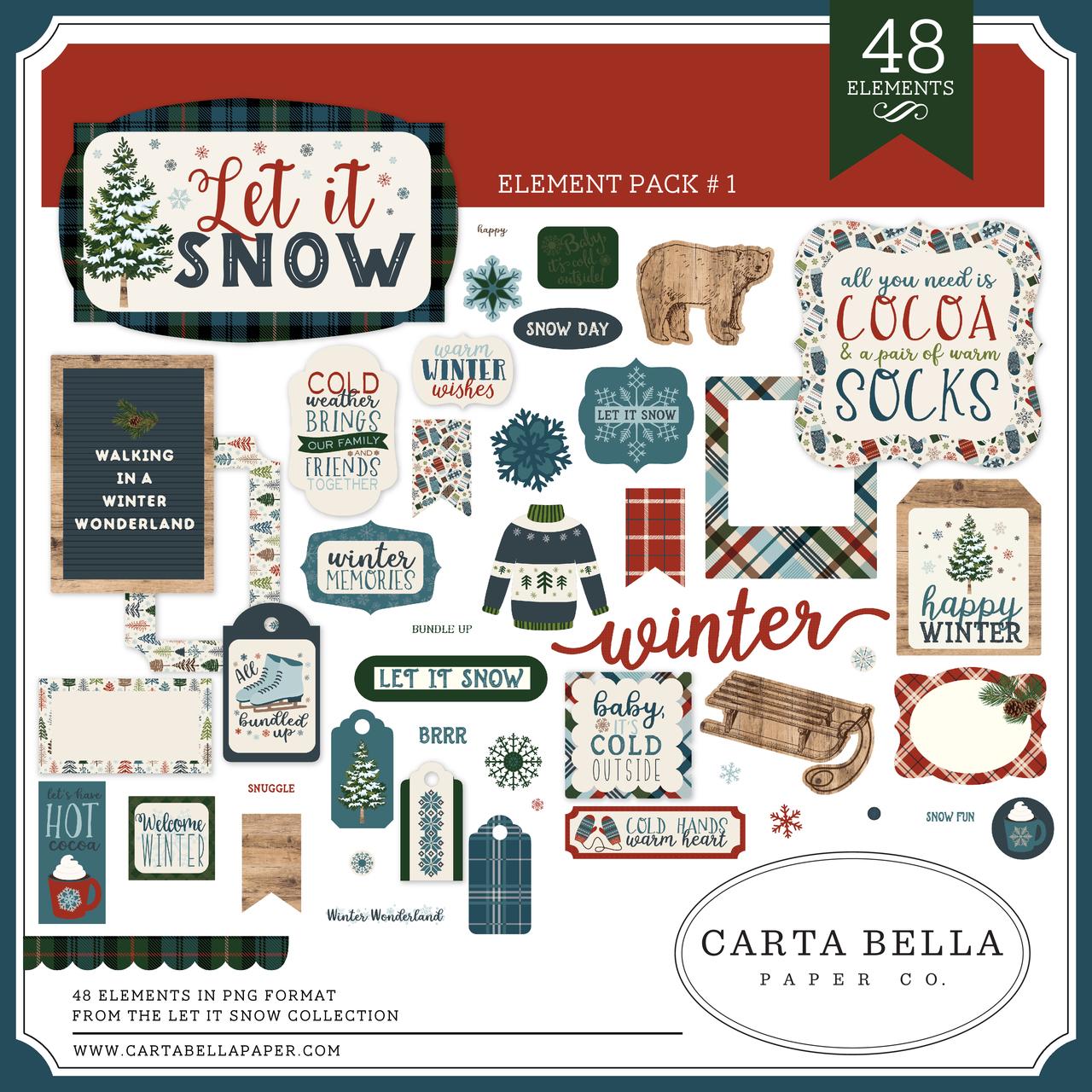 Let It Snow Element Pack #1