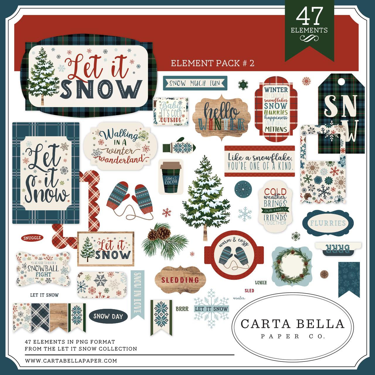 Let It Snow Element Pack #2