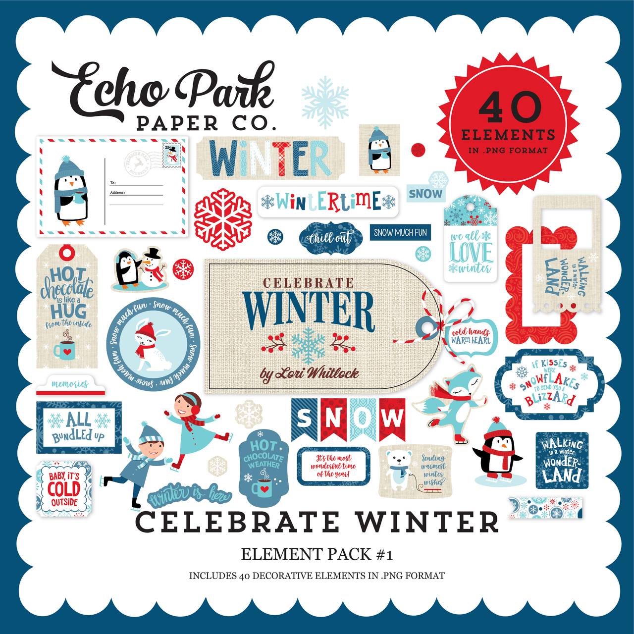 Celebrate Winter Element Pack #1