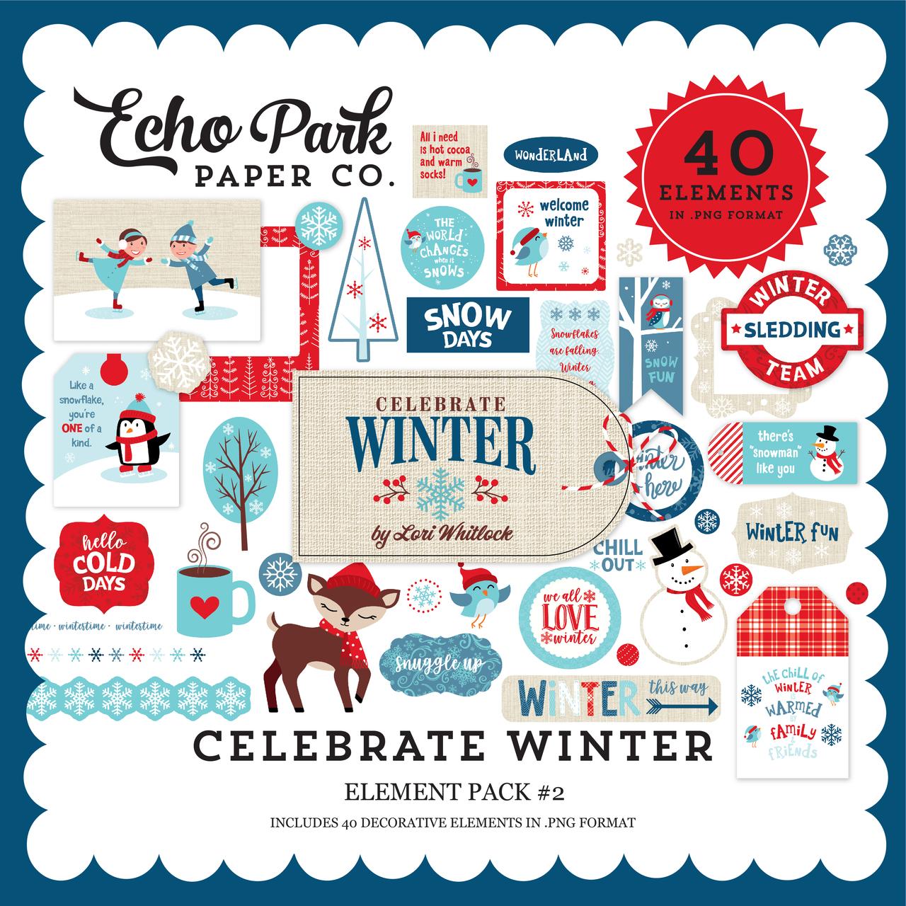 Celebrate Winter Element Pack #2