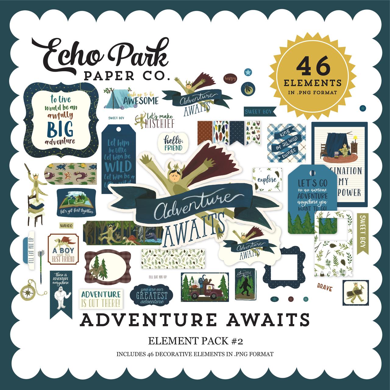 Adventure Awaits Element Pack #2