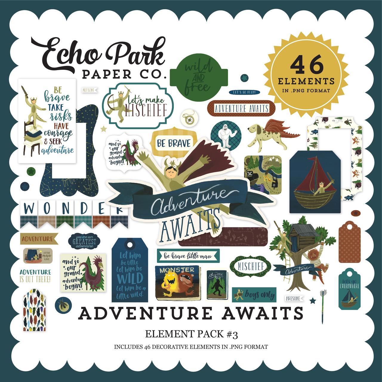 Adventure Awaits Element Pack #3