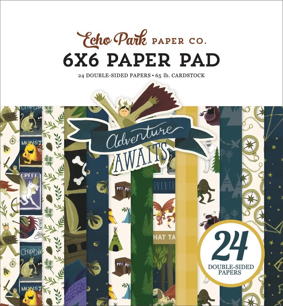 Adventure Awaits 6x6 Paper Pad