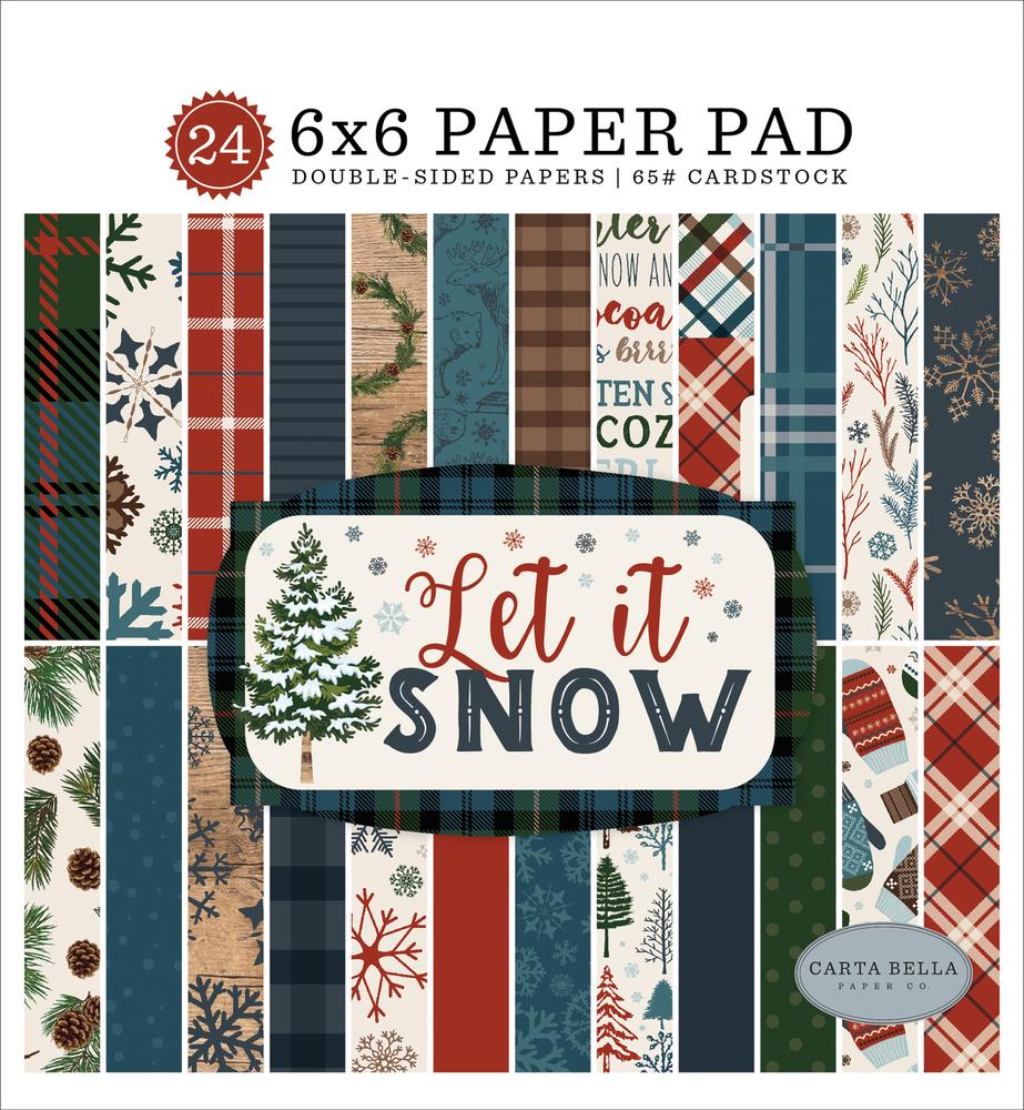 Let It Snow 6x6 Paper Pad