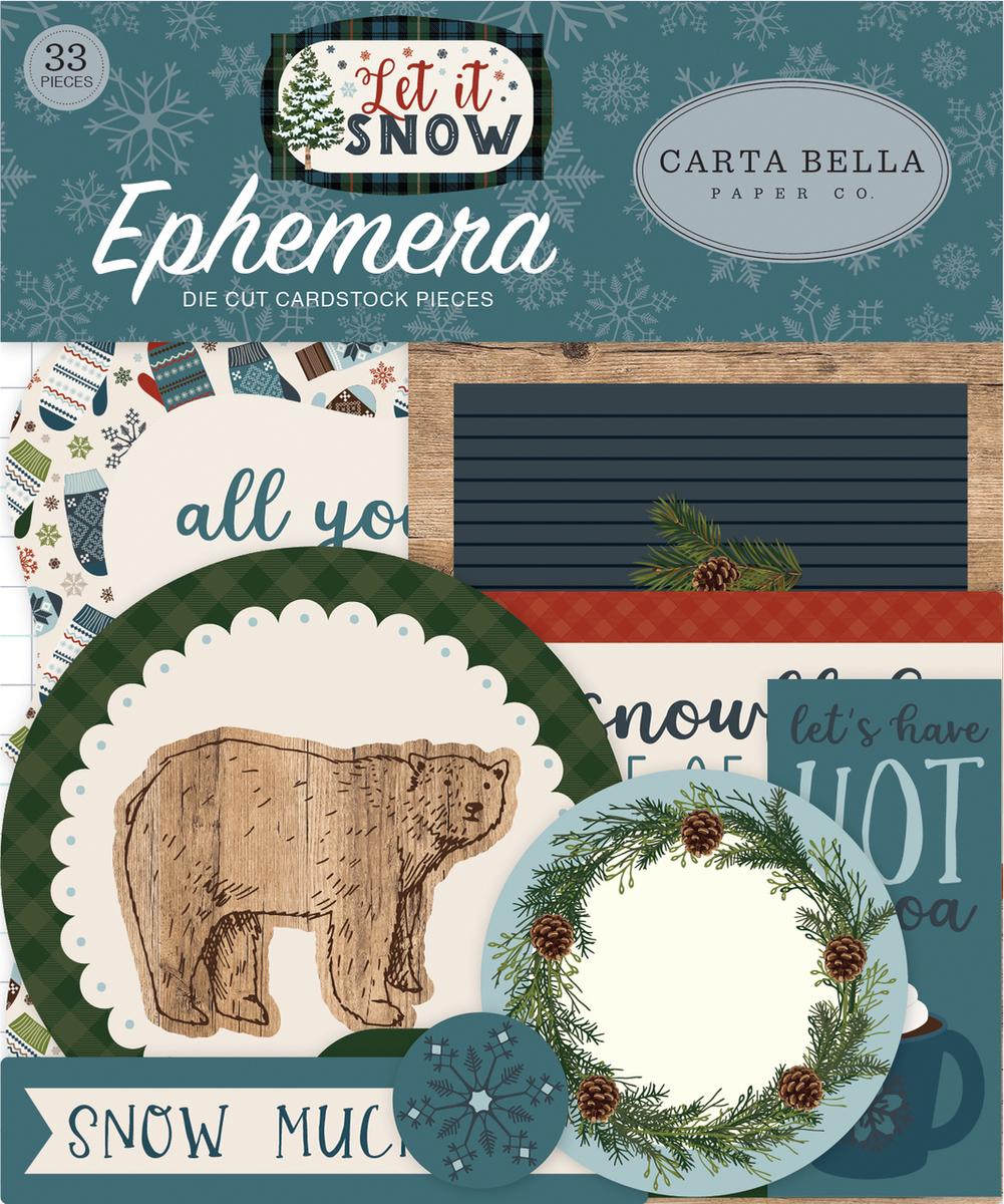 Let It Snow Ephemera