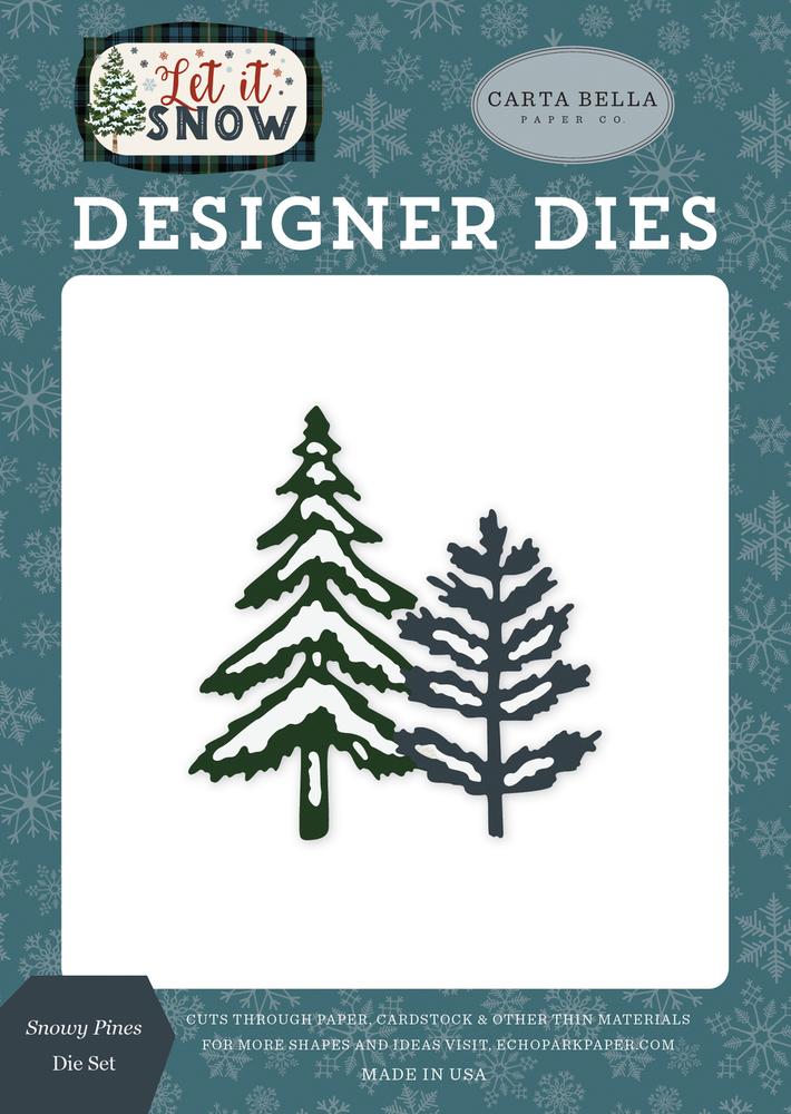 Snowy Pines Die Set
