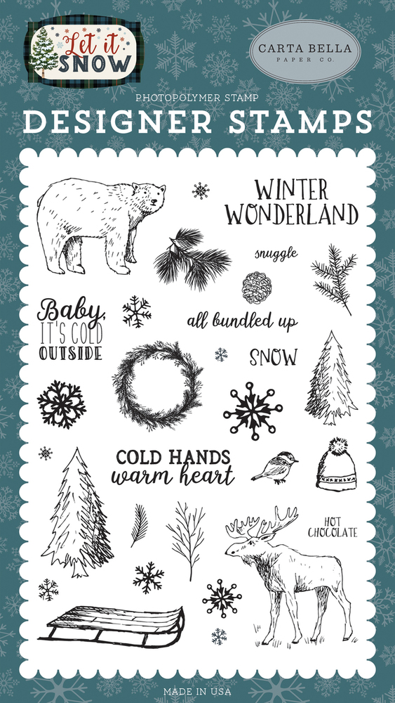 Cold Hands, Warm Heart Stamp
