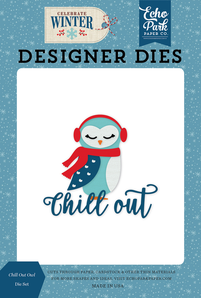Chill Out Owl Die Set