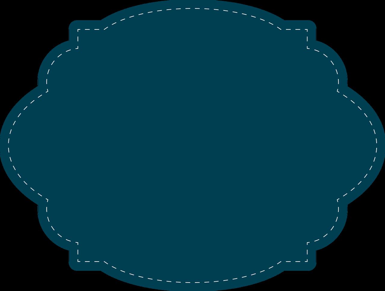 Stitched Tag SVG Cut File