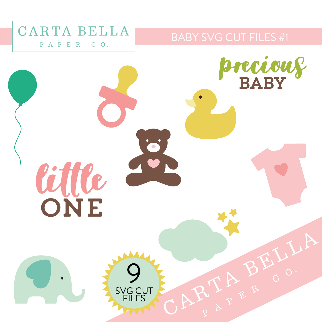 CB Baby SVG Cut Files #1