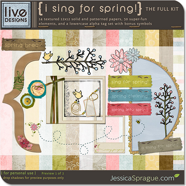 I Sing for Spring!