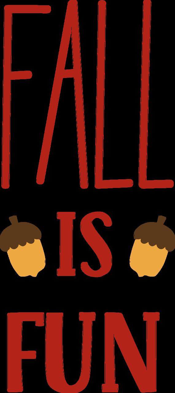 Fall Is Fun SVG Cut File