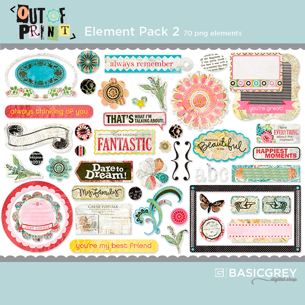 Out of Print Element Pack 2