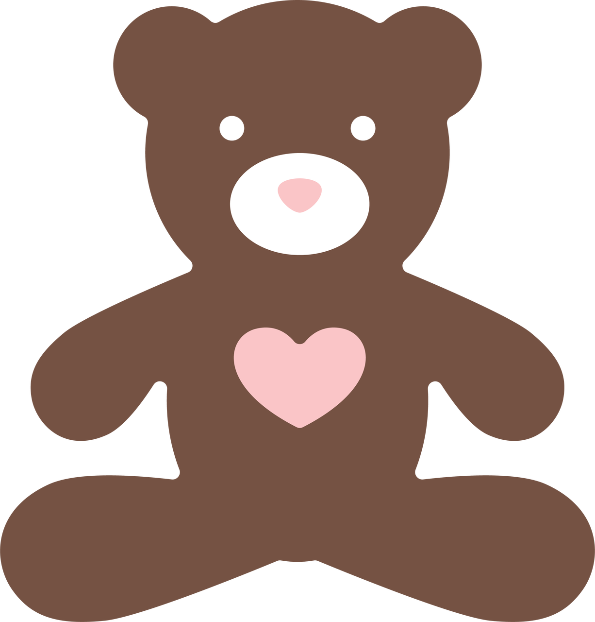 Teddy Bear #2 SVG Cut File