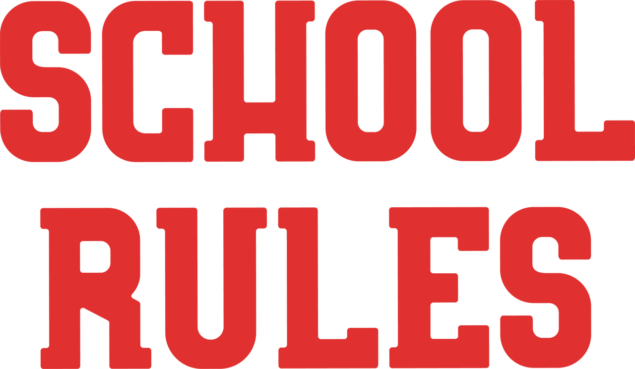 School Rules SVG Cut File