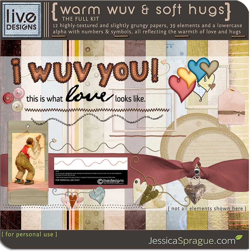 Warm Wuv & Soft Hugs - The Full Kit