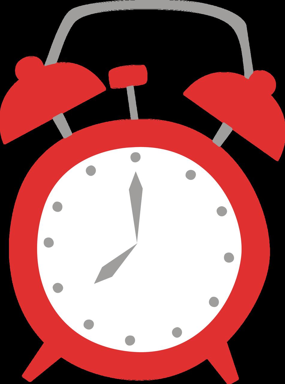 Alarm Clock #2 SVG Cut File