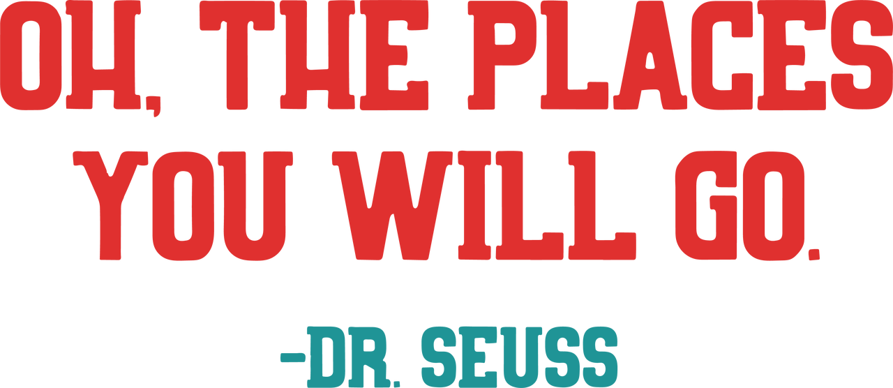 Oh The Places You Will Go SVG Cut File