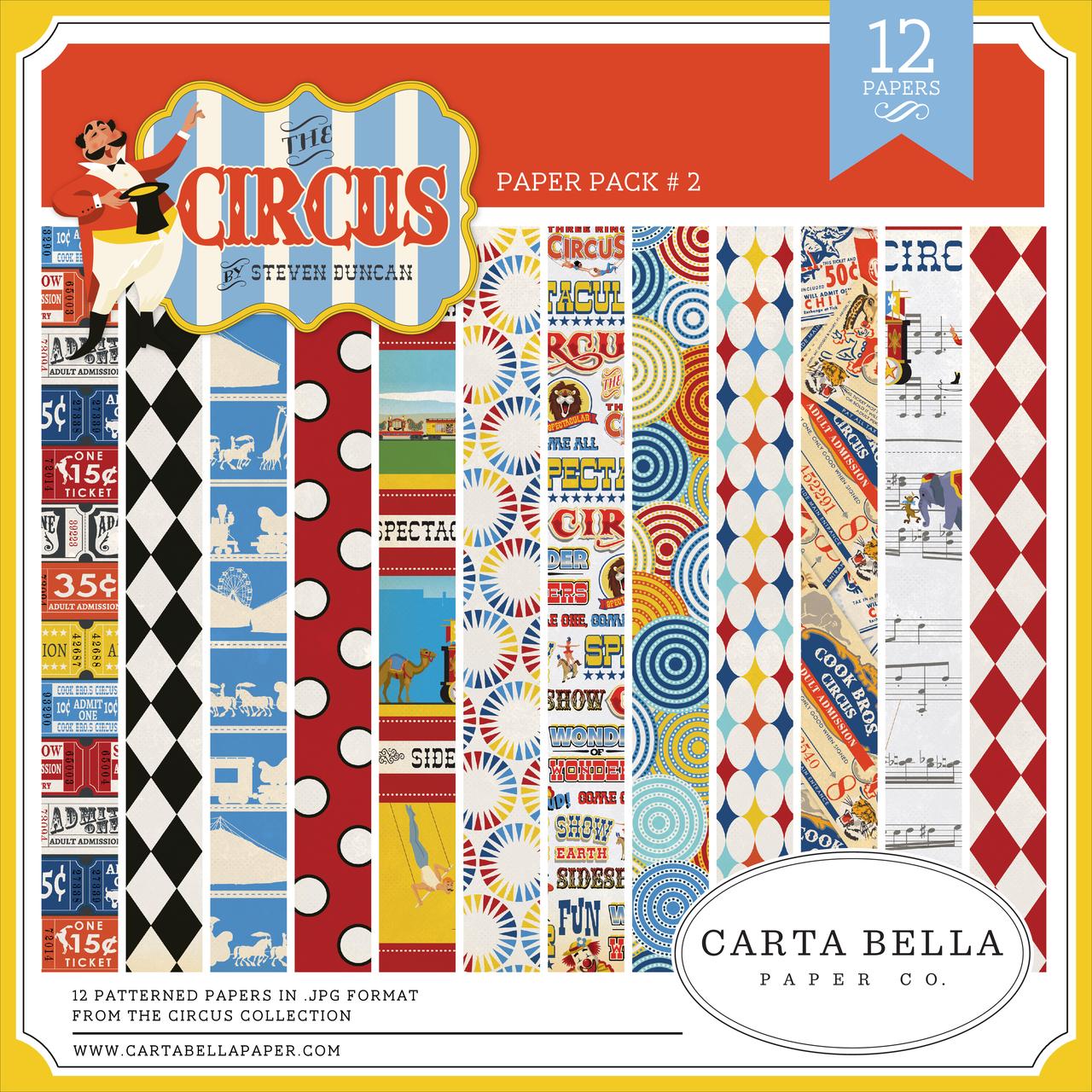 Circus Paper Pack #2