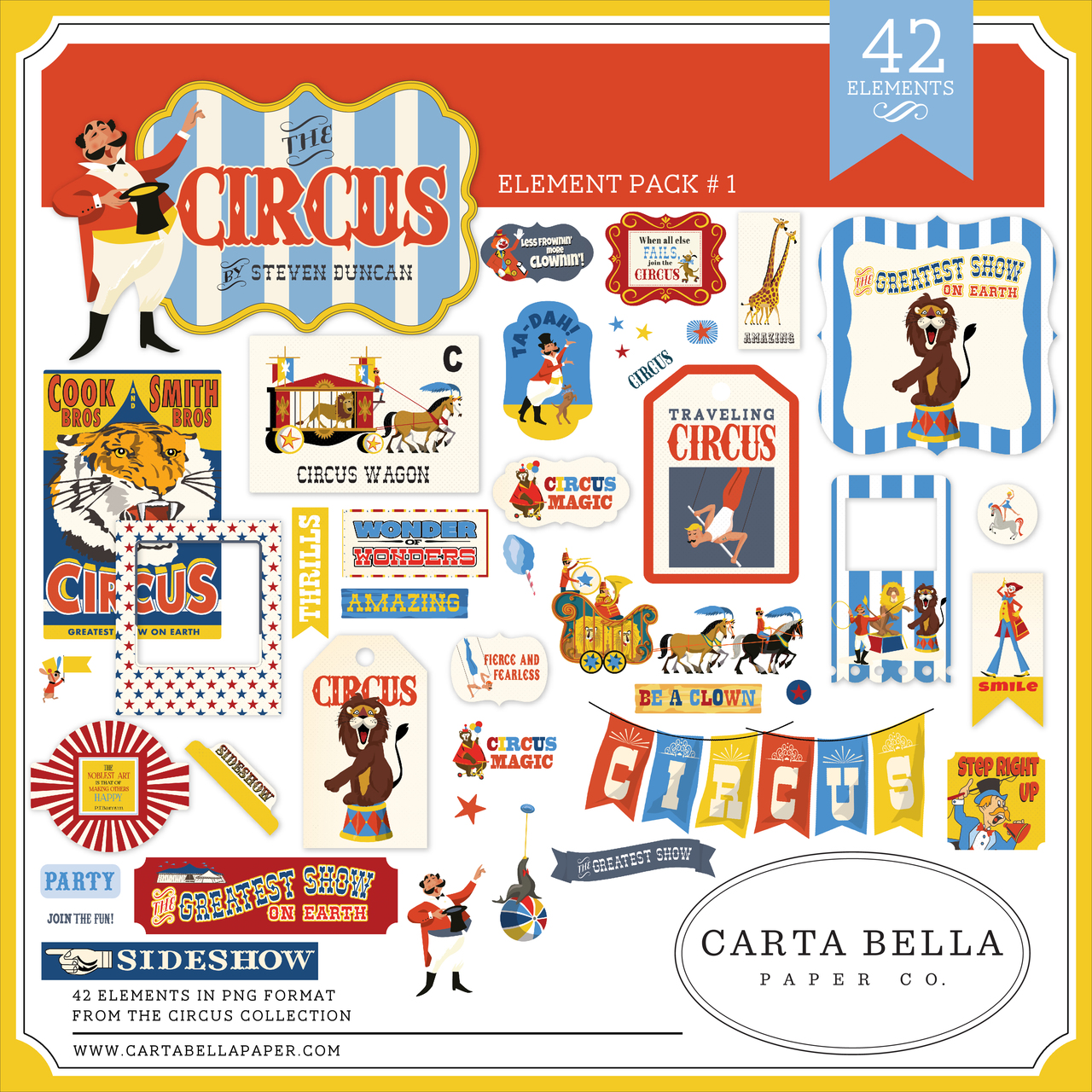 Circus Element Pack #1