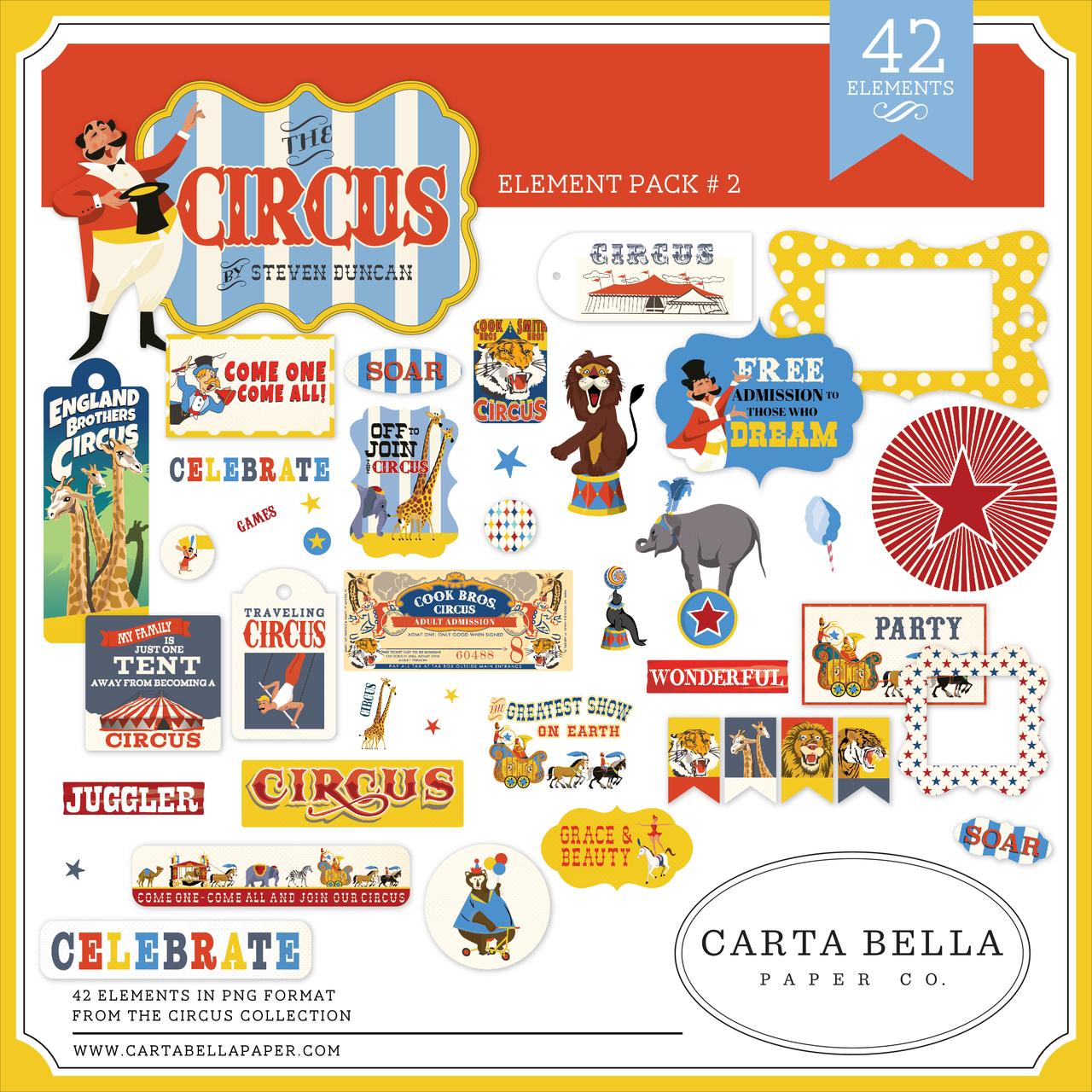 Circus Element Pack #2