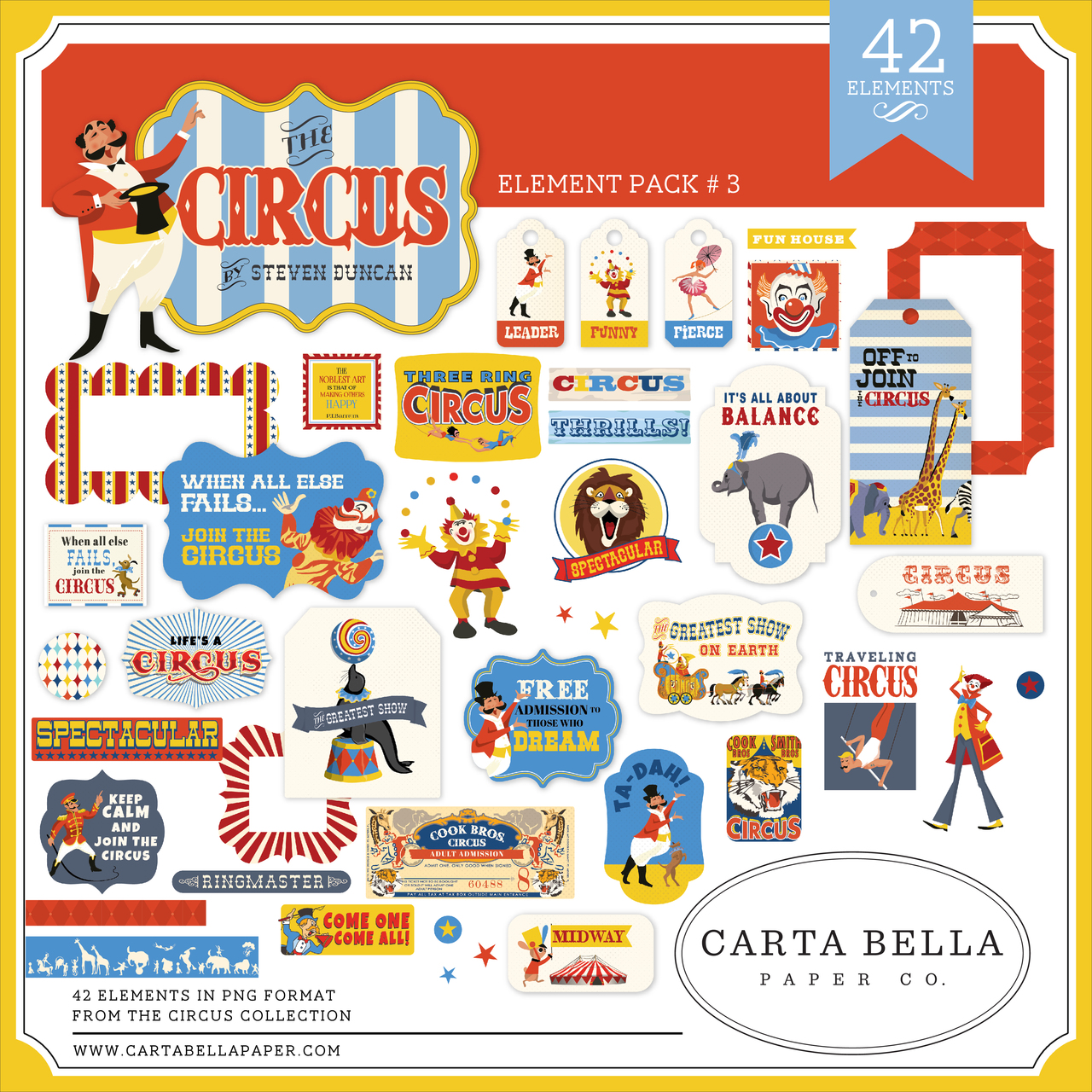 Circus Element Pack #3