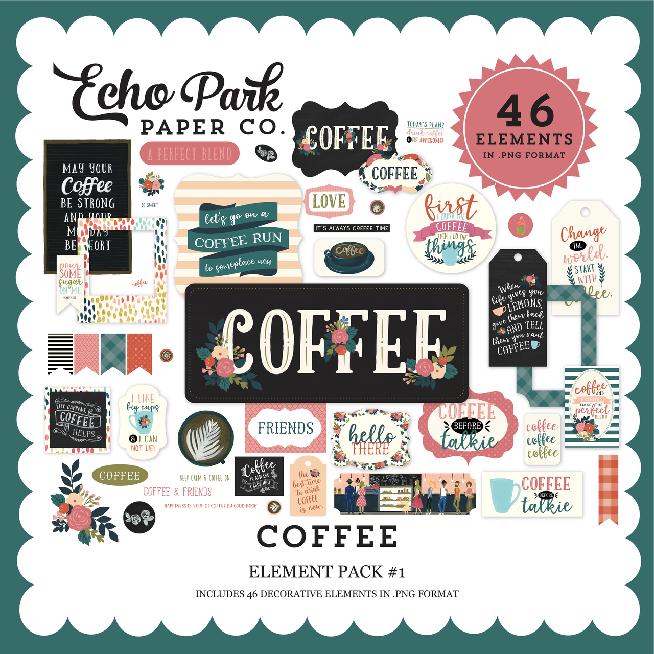 Coffee Element Pack #1