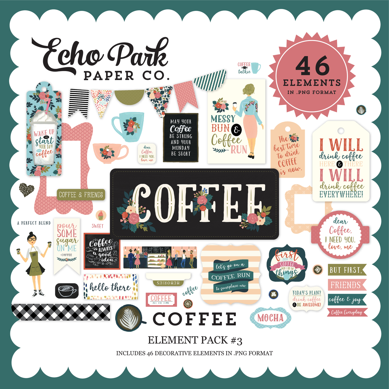Coffee Element Pack #3