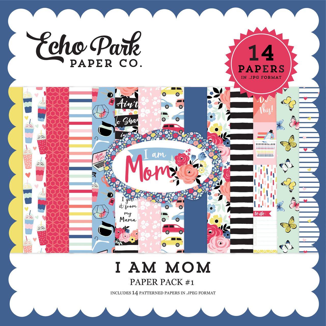 I Am Mom Paper Pack #1
