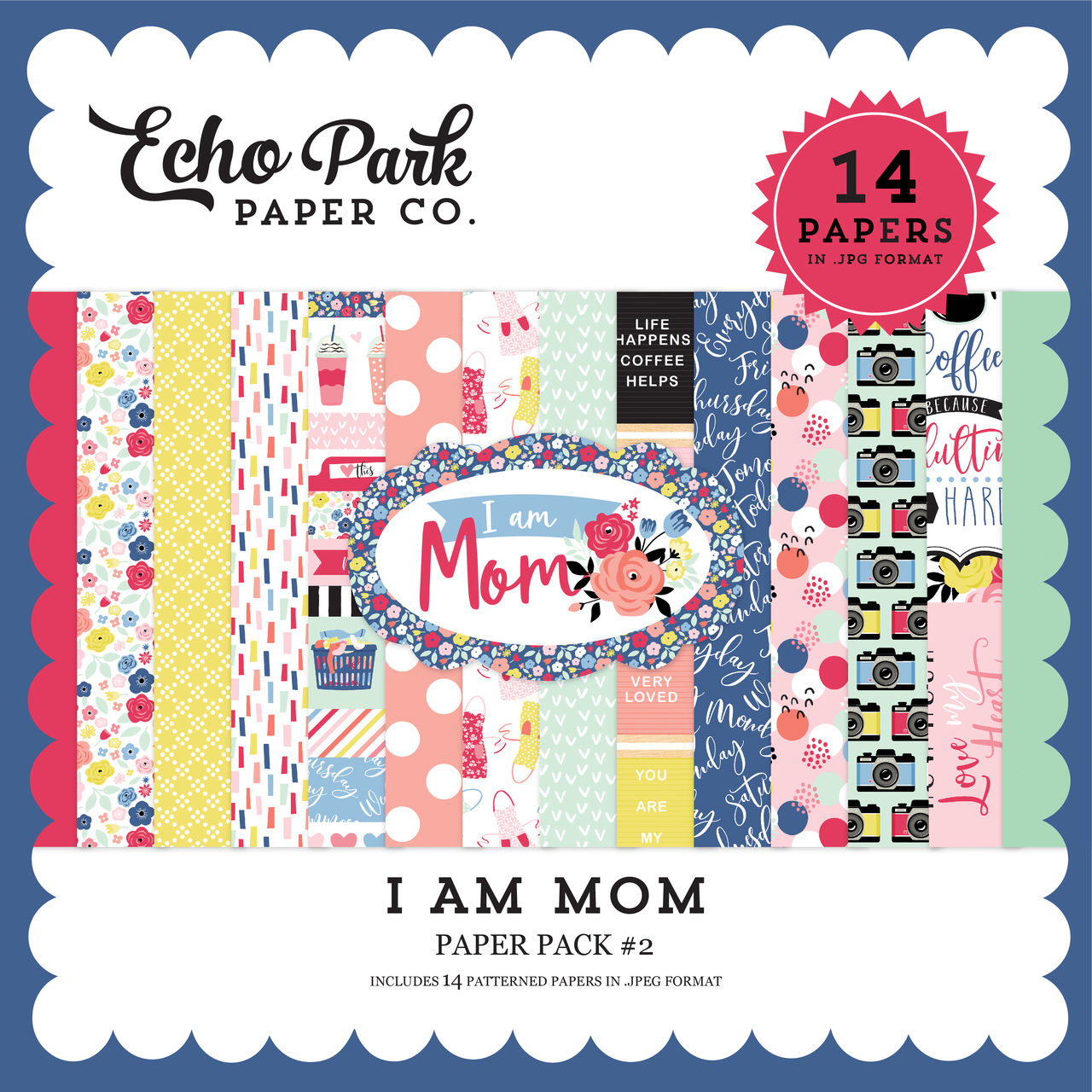 I Am Mom Paper Pack #2